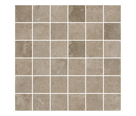 TECNO SCORE beige 5x5 by Ceramic District | Ceramic mosaics