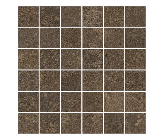 TECNO SCORE mud 5x5 by Ceramic District | Ceramic mosaics