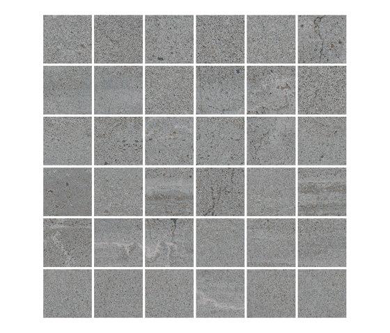 TECNO STONE grey 5x5 by Ceramic District   Ceramic mosaics