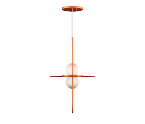 Solaire Suspension Lamp by Liu Jo Living   Suspended lights
