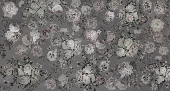 Scent of silence | Blossoming_darker by Walls beyond | Wall coverings / wallpapers