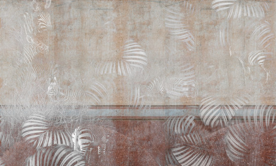 Tender is the urban | City safari_zebra by Walls beyond | Wall coverings / wallpapers