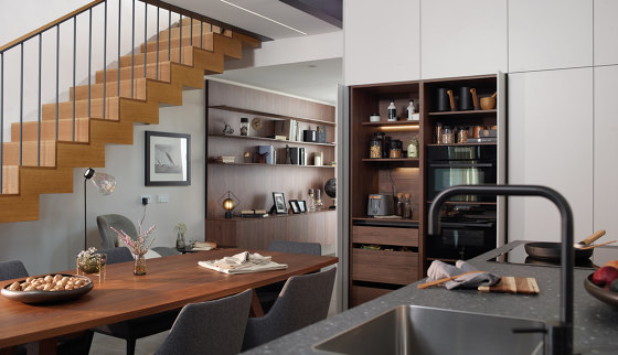 FINE Retractable tall unit by Santos | Kitchen cabinets