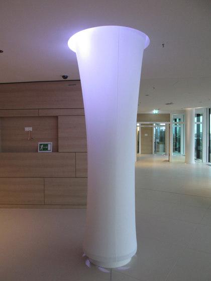Column Disguisings by Koch Membranen | Special lights