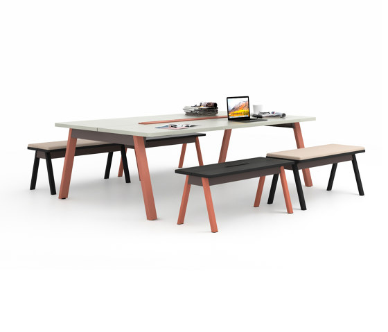 Intuity Park Bench by Haworth | Contract tables