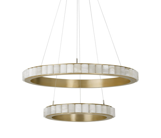 Avalon Halo chandelier by CTO Lighting | Suspended lights