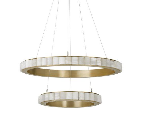 Avalon Halo chandelier von CTO Lighting | Pendelleuchten