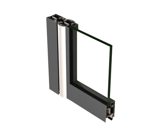 Anti-finger-trap door Janisol 2 EI30 by Jansen | Internal doors