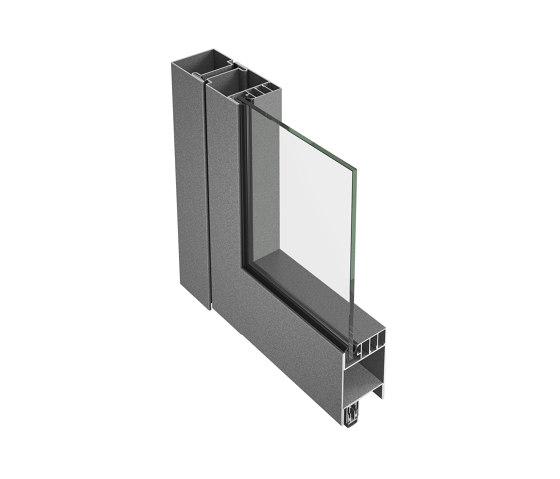 Smoke control door Economy 60 by Jansen | Internal doors