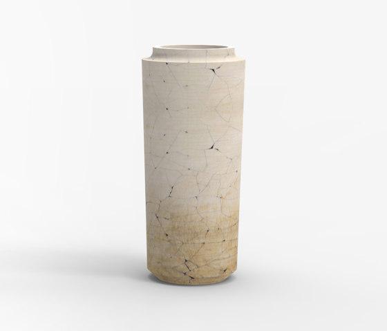 Makino large cracks vases by Hiyoshiya | Vases