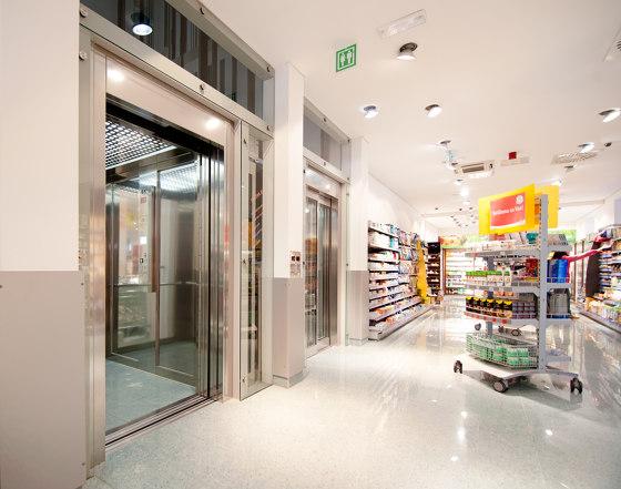 Elevators | Atlas Gigas for Commercial & Public Buildings by KLEEMANN | Passenger elevators
