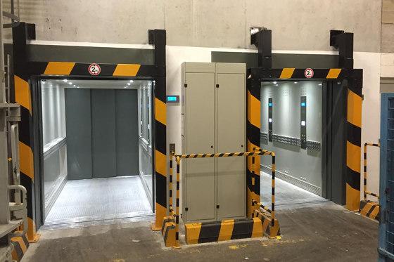 Elevators | Atlas Gigas for Industrial Buildings by KLEEMANN | Services elevators