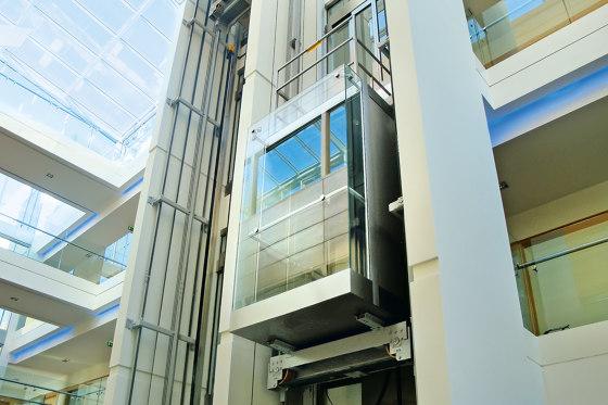 Elevators   Atlas Premium for Hospitals by KLEEMANN   Passenger elevators