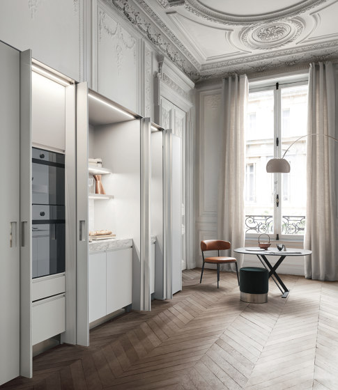 Beta, New Pocket System by Arclinea | Fitted kitchens