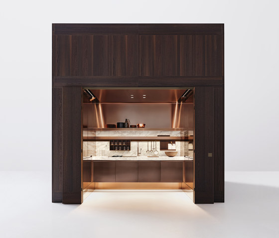 Convivium, Modus Doors System by Arclinea | Fitted kitchens