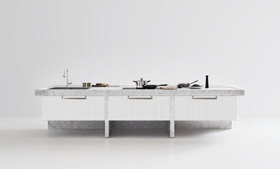 Lignum Et Lapis Island by Arclinea | Island kitchens
