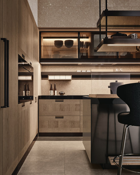 Principia, Convivium by Arclinea   Fitted kitchens