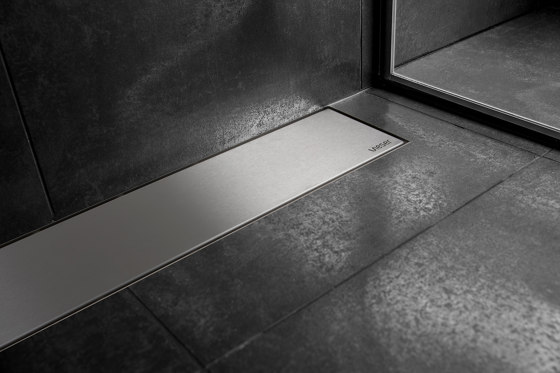 Vieser Line | Core Stainless Steel by VIESER | Linear drains