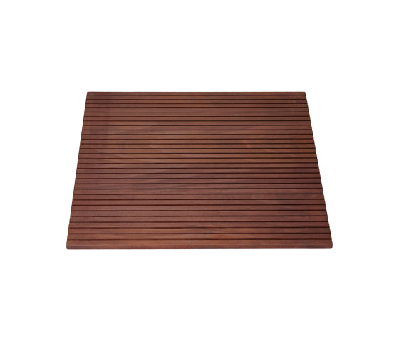 Vieser Square | Kebony Bali Oiled by VIESER | Linear drains