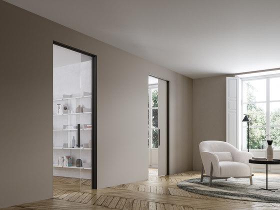Light Sliding Inside The Wall by ADL | Internal doors