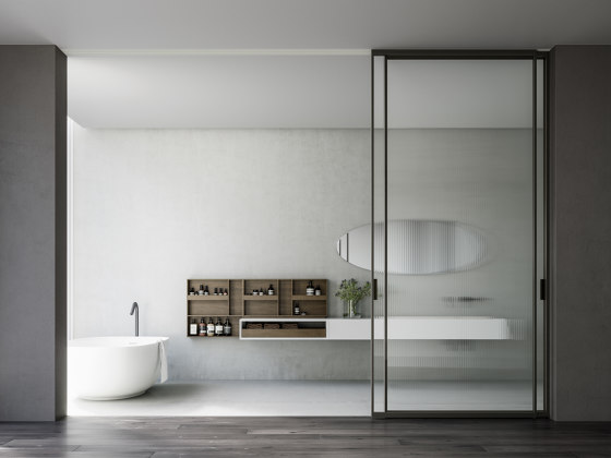 Mitica Sliding With Drag by ADL   Internal doors