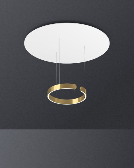 Mito sospeso acoustic by Occhio | Suspended lights