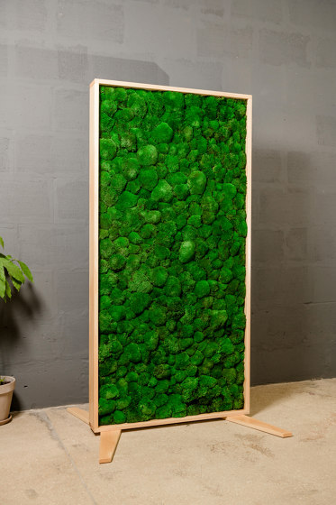 Moss Devider 2m x 1m by Ekomoss | Privacy screen