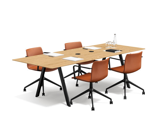 Slide meeting table by RENZ | Contract tables