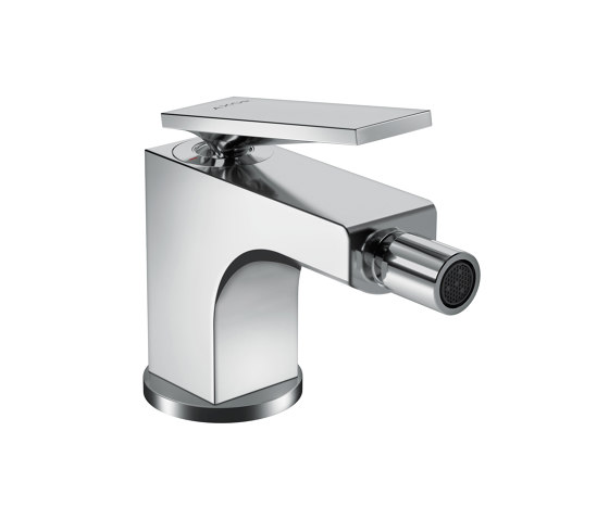 AXOR Citterio Single lever bidet mixer with lever handle and pop-up waste set by AXOR   Bidet taps