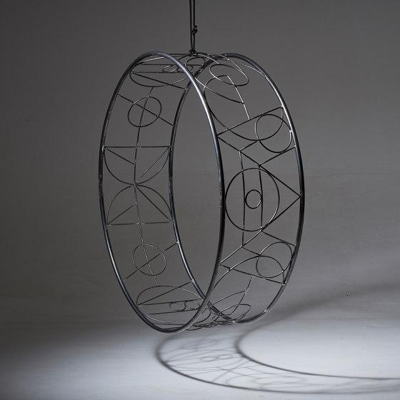 Wheel Hanging Swing Chair - Ndebele by Studio Stirling   Swings