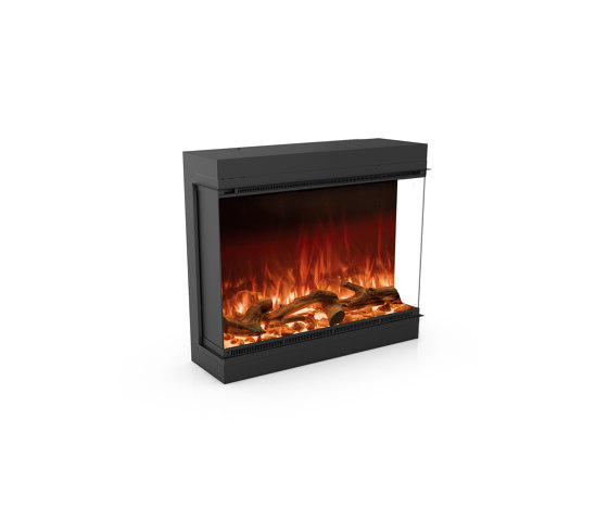 Astro 850 Right Corner by Planika | Fireplace inserts