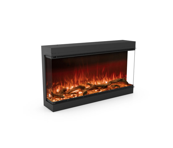 Astro 1200 Three Sided by Planika   Fireplace inserts