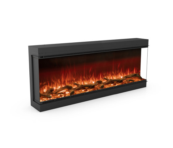 Astro 1500 Right Corner by Planika   Fireplace inserts