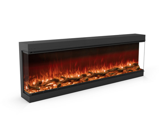 Astro 1800 Three Sided by Planika   Fireplace inserts
