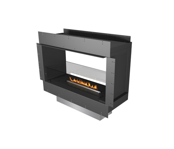 Forma 1000 See-Through by Planika   Fireplace inserts