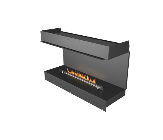 Forma 1200 Three-Sided by Planika | Fireplace inserts