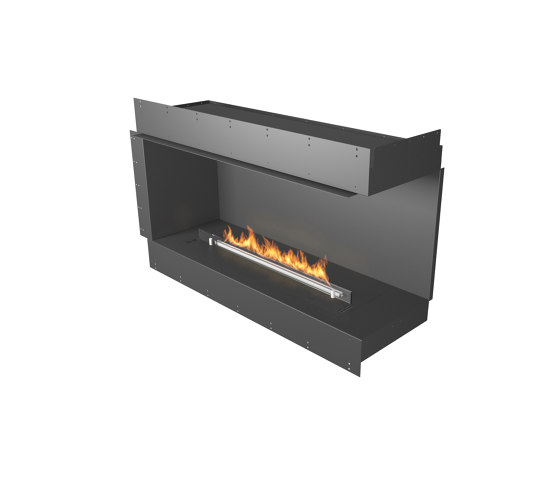 Forma 1200 Right Corner by Planika | Fireplace inserts