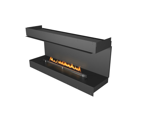 Forma 1500 Three-Sided by Planika | Fireplace inserts