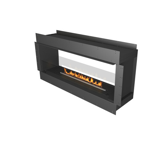 Forma 1500 See-Through by Planika   Fireplace inserts
