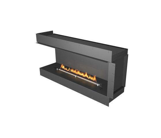 Forma 1500 Left Corner by Planika   Fireplace inserts