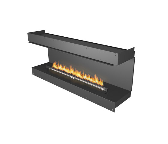 Forma 1800 Three-Sided by Planika | Fireplace inserts