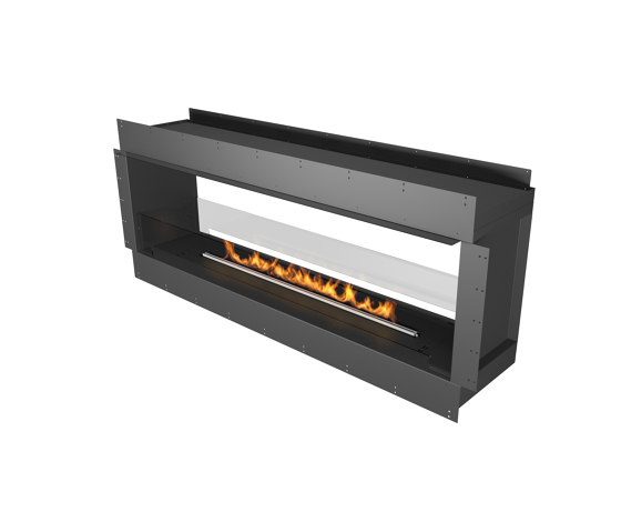 Forma 1800 See-Through by Planika | Fireplace inserts
