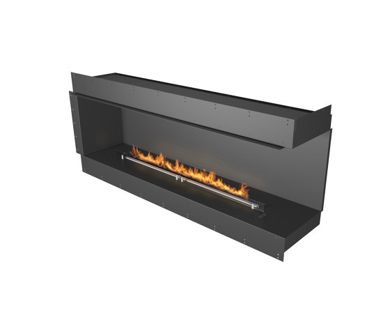 Forma 1800 Right Corner by Planika | Fireplace inserts