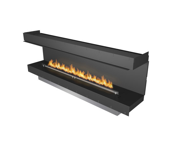 Forma 2300 Three-Sided by Planika   Fireplace inserts