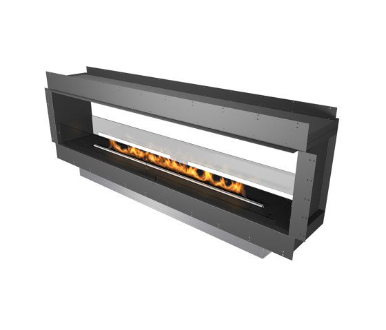 Forma 2300 See-Through by Planika | Fireplace inserts