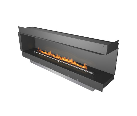 Forma 2300 Right Corner by Planika   Fireplace inserts