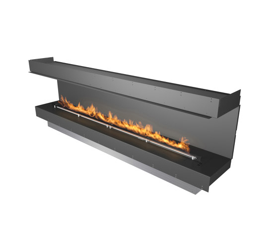 Forma 2700 Three-Sided by Planika   Fireplace inserts