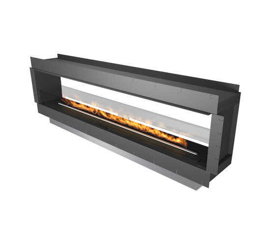 Forma 2700 See-Through by Planika   Fireplace inserts