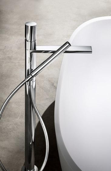 Milano | Floor-mount bathtub mixer by Fantini | Bath taps