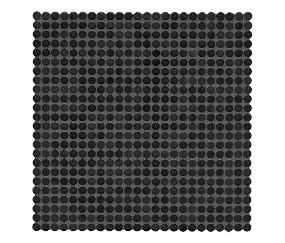 Loop   night black glossy by AGROB BUCHTAL   Ceramic mosaics